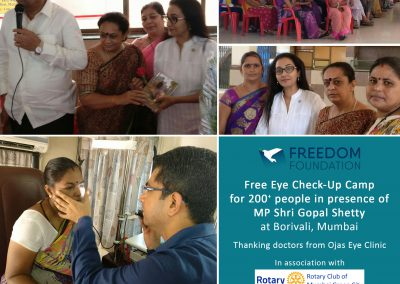 Eye Camp Collage